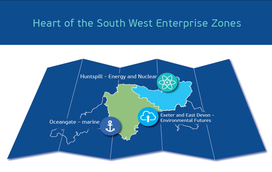 Heart of the South West Enterprise Zones