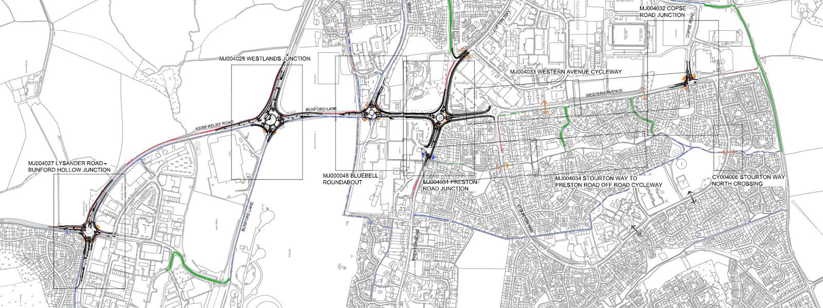 Yeovil Western Corridor capacity upgrade