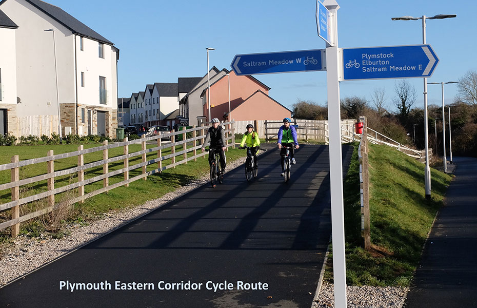GD19 – Plymouth Eastern Corridor Cycle Network