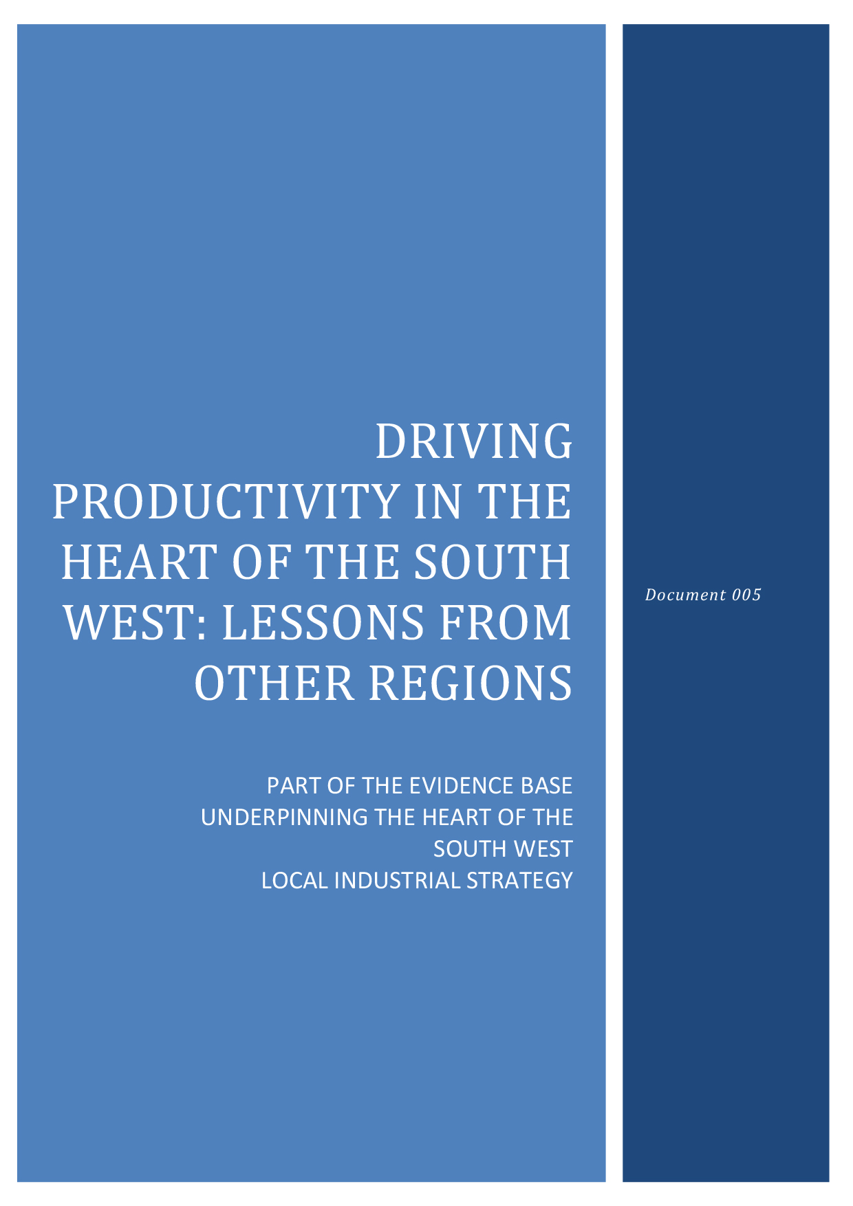 Microsoft Word - 005 Driving Productivity in the Heart of the So