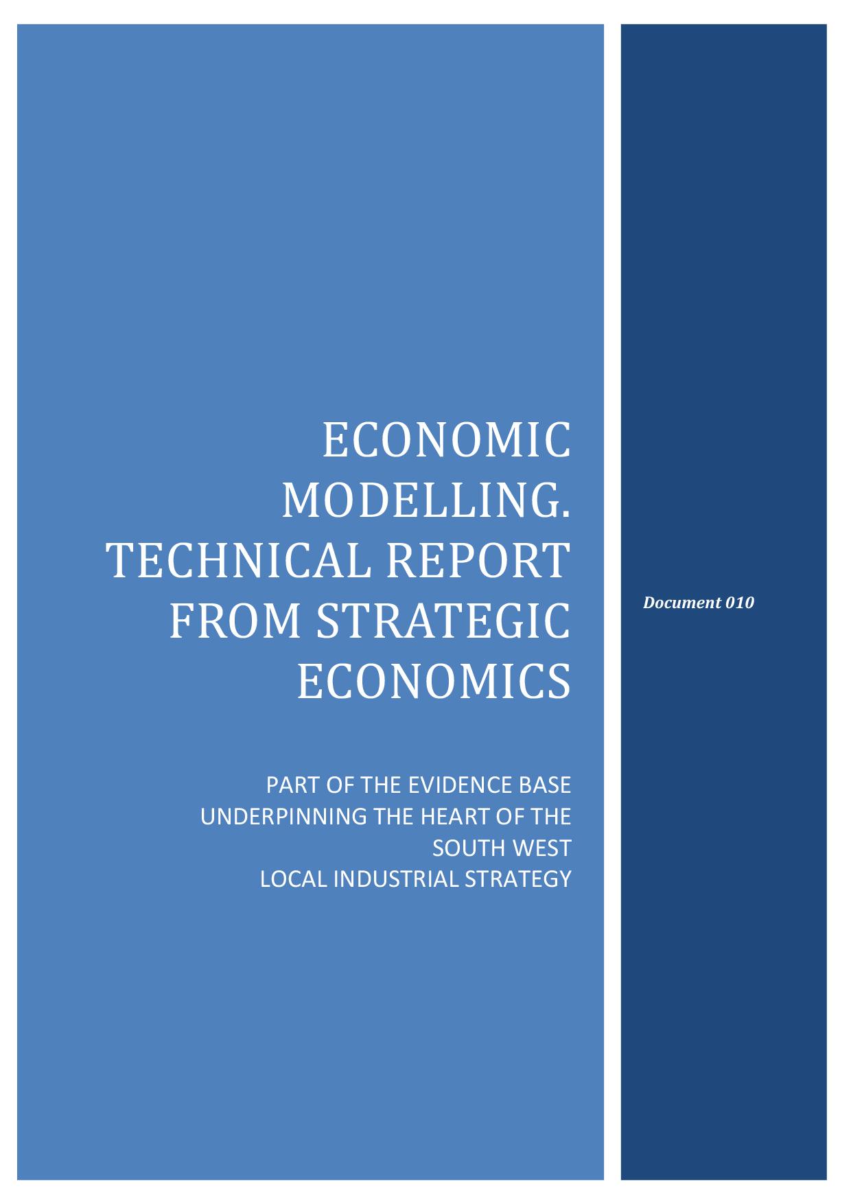 Microsoft Word - 010 Economic Modelling