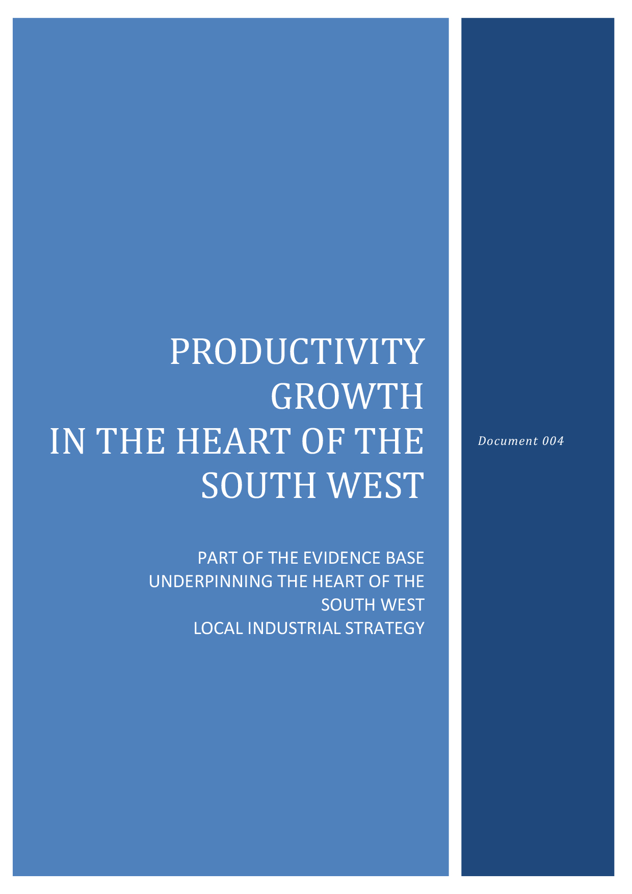 Microsoft Word - 004 Productivity Growth in the Heart of the Sou