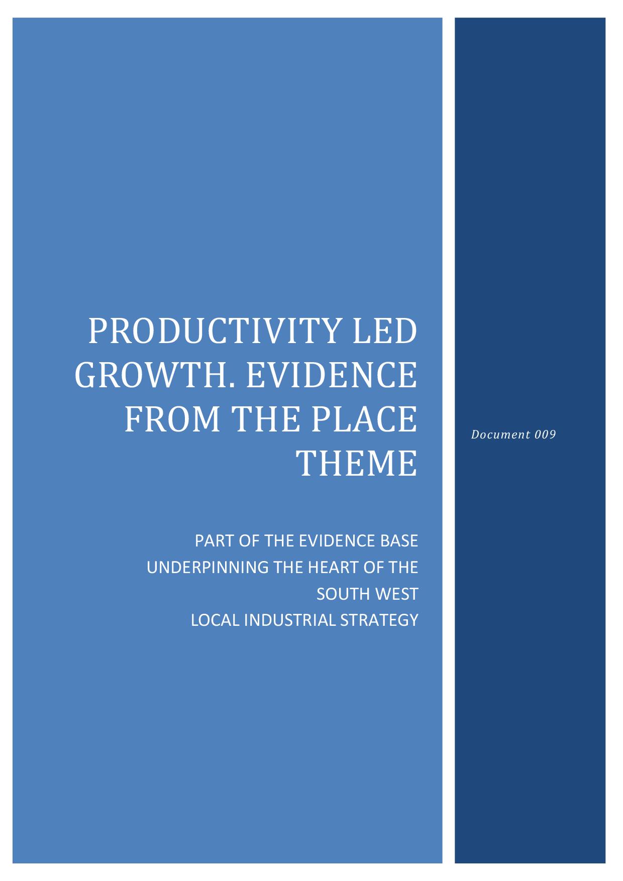 Microsoft Word - 009 Productivity-led Growth (place theme)
