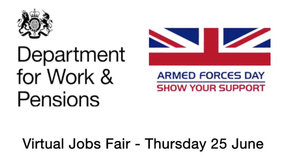 Armed Forces Virtual Jobs Fair Logo
