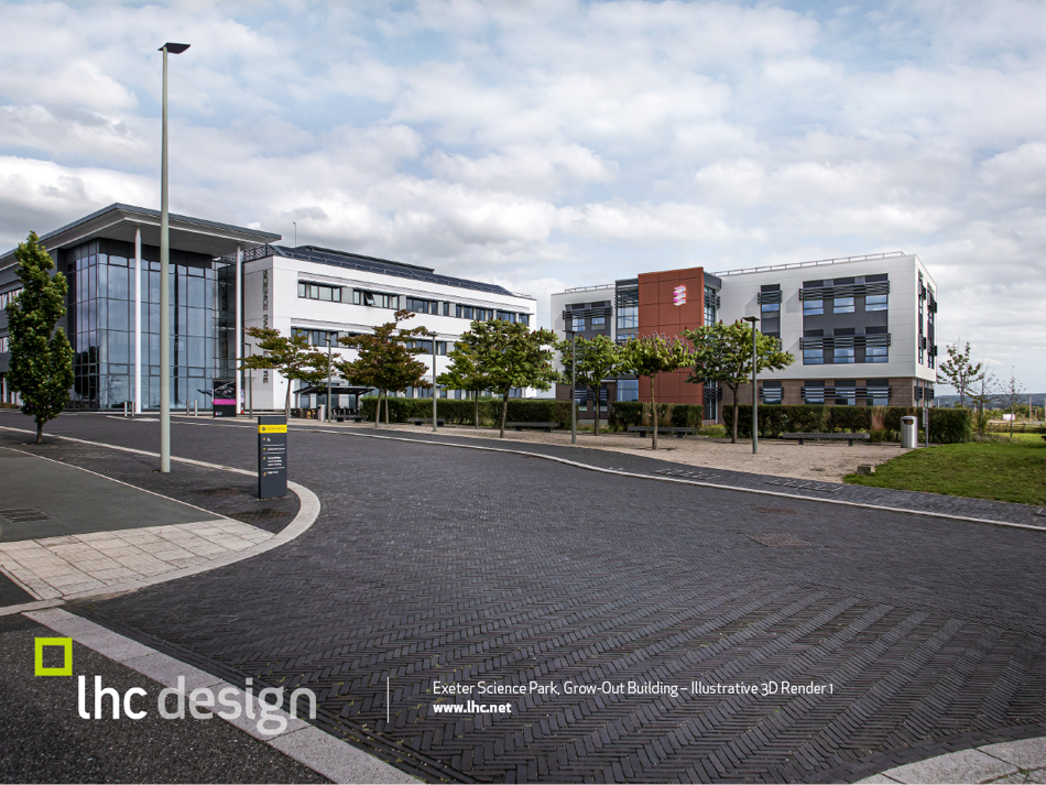 GB10 – Exeter Science Park Grow-out Building